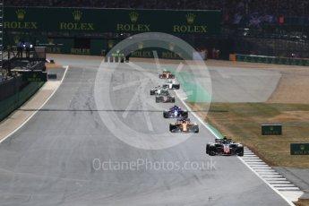 World © Octane Photographic Ltd. Formula 1 – British GP - Race. Haas F1 Team VF-18 – Kevin Magnussen. Silverstone Circuit, Towcester, UK. Sunday 8th July 2018.