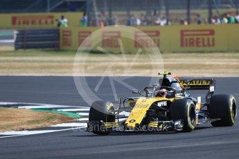 World © Octane Photographic Ltd. Formula 1 – British GP - Practice 1. Renault Sport F1 Team RS18 – Carlos Sainz. Silverstone Circuit, Towcester, UK. Friday 6th July 2018.
