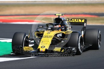 World © Octane Photographic Ltd. Formula 1 – British GP - Practice 2. Renault Sport F1 Team RS18 – Carlos Sainz. Silverstone Circuit, Towcester, UK. Friday 6th July 2018.