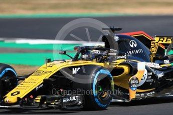 World © Octane Photographic Ltd. Formula 1 – British GP - Practice 2. Renault Sport F1 Team RS18 – Nico Hulkenberg. Silverstone Circuit, Towcester, UK. Friday 6th July 2018.