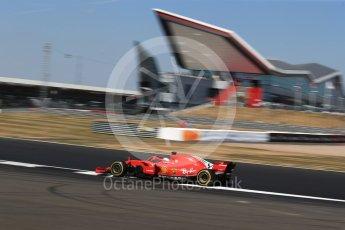 World © Octane Photographic Ltd. Formula 1 – British GP - Practice 2. Scuderia Ferrari SF71-H – Sebastian Vettel. Silverstone Circuit, Towcester, UK. Friday 6th July 2018.