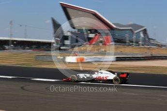 World © Octane Photographic Ltd. Formula 1 – British GP - Practice 2. Haas F1 Team VF-18 – Kevin Magnussen. Silverstone Circuit, Towcester, UK. Friday 6th July 2018.