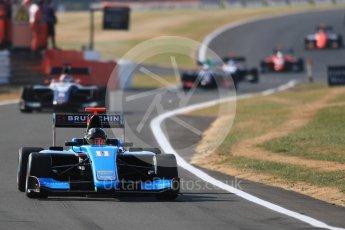 World © Octane Photographic Ltd. GP3 – British GP – Practice. Jenzer Motorsport - David Beckman. Silverstone Circuit, Towcester, UK. Friday 6th July 2018.