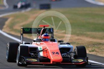 World © Octane Photographic Ltd. GP3 – British GP – Practice. MP Motorsport - Niko Kari. Silverstone Circuit, Towcester, UK. Friday 6th July 2018.