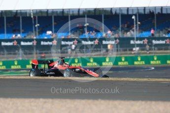 World © Octane Photographic Ltd. GP3 – British GP – Practice. ART Grand Prix - Callum Illot. Silverstone Circuit, Towcester, UK. Friday 6th July 2018.