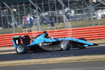 World © Octane Photographic Ltd. GP3 – British GP – Practice. Jenzer Motorsport - Tatiana Calderon. Silverstone Circuit, Towcester, UK. Friday 6th July 2018.