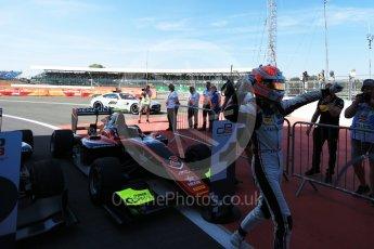 World © Octane Photographic Ltd. GP3 – British GP –   Race 1. ART Grand Prix - Anthoine Hubert. Silverstone Circuit, Towcester, UK. Saturday 7th July 2018.
