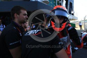 World © Octane Photographic Ltd. GP3 – British GP – Race 1. ART Grand Prix - Nikita Mazepin. Silverstone Circuit, Towcester, UK. Saturday 7th July 2018.