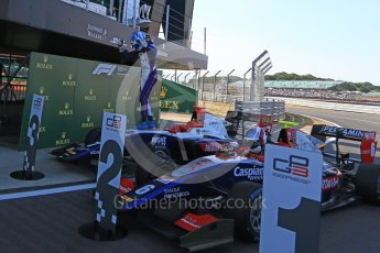 World © Octane Photographic Ltd. GP3 – British GP – Race 2. Trident - Ryan Tveter. Silverstone Circuit, Towcester, UK. Sunday 8th July 2018.
