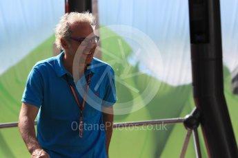 World © Octane Photographic Ltd. Formula 1 – British GP - Paddock. Jacques Villeneuve. Silverstone Circuit, Towcester, UK. Saturday 7th July 2018.