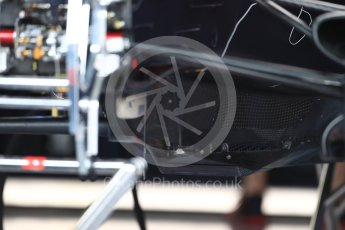 World © Octane Photographic Ltd. Formula 1 – British GP - Pit Lane. Aston Martin Red Bull Racing TAG Heuer RB14. Silverstone Circuit, Towcester, UK. Thursday 5th July 2018.