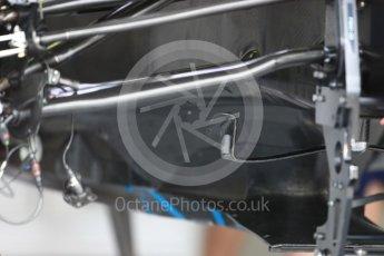 World © Octane Photographic Ltd. Formula 1 – British GP - Pit Lane. Williams Martini Racing FW41. Silverstone Circuit, Towcester, UK. Thursday 5th July 2018.