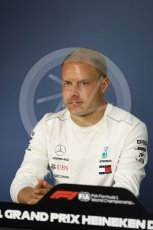 World © Octane Photographic Ltd. Formula 1 – Canadian GP - Thursday Driver Press Conference. Mercedes AMG Petronas Motorsport AMG F1 W09 EQ Power+ - Valtteri Bottas. Circuit Gilles Villeneuve, Montreal, Canada. Thursday 7th June 2018.