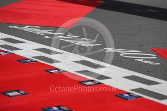 World © Octane Photographic Ltd. Formula 1 - Canadian GP - Grid. Salute Gilles. Circuit Gilles Villeneuve, Montreal, Canada. Sunday 10th June 2018.