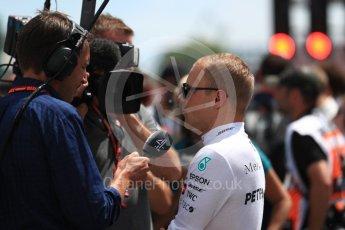 World © Octane Photographic Ltd. Formula 1 – Canadian GP - Grid. Mercedes AMG Petronas Motorsport AMG F1 W09 EQ Power+ - Valtteri Bottas. Circuit Gilles Villeneuve, Montreal, Canada. Sunday 10th June 2018.