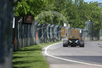 World © Octane Photographic Ltd. Formula 1 – Canadian GP - Practice 1. Renault Sport F1 Team RS18 – Carlos Sainz. Circuit Gilles Villeneuve, Montreal, Canada. Friday 8th June 2018.