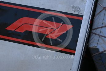 World © Octane Photographic Ltd. Formula 1 – Canadian GP - Practice 1. Formula 1 logo. Circuit Gilles Villeneuve, Montreal, Canada. Friday 8th June 2018.