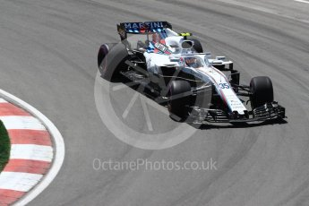 World © Octane Photographic Ltd. Formula 1 – Canadian GP - Practice 2. Williams Martini Racing FW41 – Sergey Sirotkin. Circuit Gilles Villeneuve, Montreal, Canada. Friday 8th June 2018.