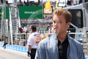 World © Octane Photographic Ltd. Formula 1 - Canadian GP - Practice 3. Nico Rosberg. Circuit Gilles Villeneuve, Montreal, Canada. Saturday 9th June 2018.