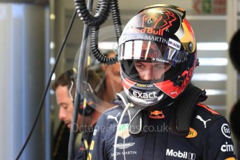 World © Octane Photographic Ltd. Formula 1 – Canadian GP - Practice 3. Aston Martin Red Bull Racing TAG Heuer RB14 – Max Verstappen. Circuit Gilles Villeneuve, Montreal, Canada. Saturday 9th June 2018.