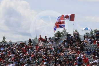 World © Octane Photographic Ltd. Formula 1 – Canadian GP - Practice 3. Fans. Circuit Gilles Villeneuve, Montreal, Canada. Saturday 9th June 2018.