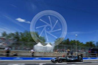 World © Octane Photographic Ltd. Formula 1 – Canadian GP - Practice 3. Mercedes AMG Petronas Motorsport AMG F1 W09 EQ Power+ - Valtteri Bottas. Circuit Gilles Villeneuve, Montreal, Canada. Saturday 9th June 2018.
