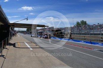 World © Octane Photographic Ltd. Formula 1 – Canadian GP - Practice 3. Mercedes AMG Petronas Motorsport AMG F1 W09 EQ Power+ - Lewis Hamilton. Circuit Gilles Villeneuve, Montreal, Canada. Saturday 9th June 2018.