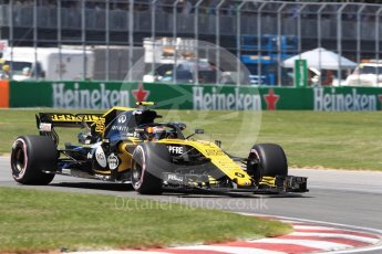 World © Octane Photographic Ltd. Formula 1 – Canadian GP - Quailfying. Renault Sport F1 Team RS18 – Carlos Sainz. Circuit Gilles Villeneuve, Montreal, Canada. Saturday 9th June 2018.