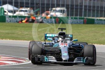 World © Octane Photographic Ltd. Formula 1 – Canadian GP - Quailfying. Mercedes AMG Petronas Motorsport AMG F1 W09 EQ Power+ - Lewis Hamilton. Circuit Gilles Villeneuve, Montreal, Canada. Saturday 9th June 2018.