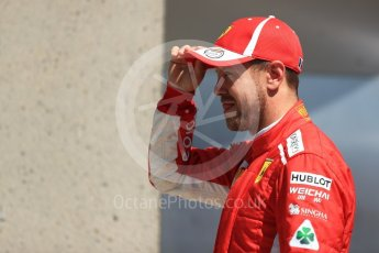 World © Octane Photographic Ltd. Formula 1 – Canadian GP - Quailfying. Scuderia Ferrari SF71-H – Sebastian Vettel. Circuit Gilles Villeneuve, Montreal, Canada. Saturday 9th June 2018.