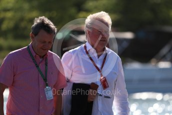 World © Octane Photographic Ltd. Formula 1 - Canadian GP - Paddock. Klaus Dieter – father of Nico Hulkenberg Circuit Gilles Villeneuve, Montreal, Canada. Friday 8th June 2018.