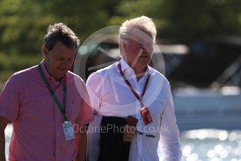 World © Octane Photographic Ltd. Formula 1 - Canadian GP - Paddock. Klaus Dieter – father of Nico Hulkenberg Circuit Gilles Villeneuve, Montreal, Canada. Friday 8th June 2018.