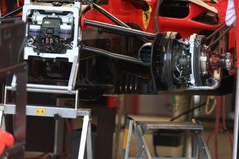 World © Octane Photographic Ltd. Formula 1 – Canadian GP - Thursday Pit Lane. Scuderia Ferrari SF71-H. Circuit Gilles Villeneuve, Montreal, Canada. Thursday 7th June 2018.