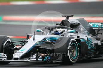 World © Octane Photographic Ltd. Formula 1 – Winter Test 1. Mercedes AMG Petronas Motorsport AMG F1 W09 EQ Power+ - Valtteri Bottas. Circuit de Barcelona-Catalunya, Spain. Monday 26th February 2018.