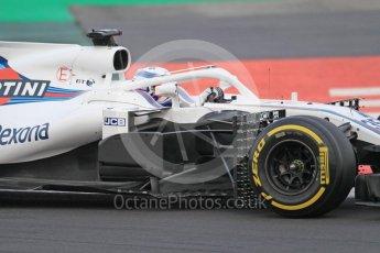 World © Octane Photographic Ltd. Formula 1 – Winter Test 1. Williams Martini Racing FW41 – Sergey Sirotkin. Circuit de Barcelona-Catalunya, Spain. Tuesday 27th February 2018.