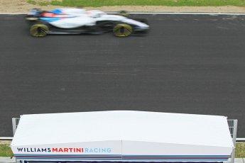 World © Octane Photographic Ltd. Formula 1 – Winter Test 1. Williams Martini Racing FW41 – Robert Kubica. Circuit de Barcelona-Catalunya, Spain. Tuesday 27th February 2018.