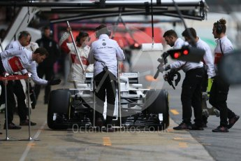 World © Octane Photographic Ltd. Formula 1 – Winter Test 1. Alfa Romeo Sauber F1 Team C37 – Charles Leclerc. Circuit de Barcelona-Catalunya, Spain. Tuesday 27th February 2018.