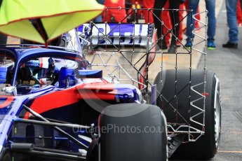 World © Octane Photographic Ltd. Formula 1 – Winter Test 1. Scuderia Toro Rosso STR13 – Pierre Gasly. Circuit de Barcelona-Catalunya, Spain. Tuesday 27th February 2018.