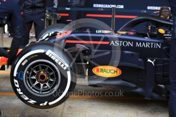 World © Octane Photographic Ltd. Formula 1 – Winter Test 1. Aston Martin Red Bull Racing TAG Heuer RB14 – Max Verstappen. Circuit de Barcelona-Catalunya, Spain. Tuesday 27th February 2018.