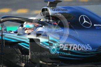 World © Octane Photographic Ltd. Formula 1 – Winter Test 2. Mercedes AMG Petronas Motorsport AMG F1 W09 EQ Power+ - Lewis Hamilton. Circuit de Barcelona-Catalunya, Spain. Friday 9th March 2018.
