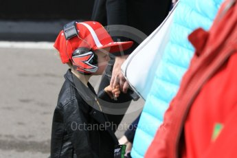 World © Octane Photographic Ltd. Formula 1 – Winter Test 2. Robin Raikkonen (Kimi Raikkonen's son). Circuit de Barcelona-Catalunya, Spain. Friday 9th March 2018.