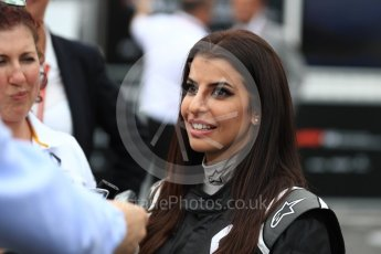 World © Octane Photographic Ltd. Formula 1 – French GP - Paddock. Aseel Al-Hamad - first female member of the Saudi Arabian Motorsport Federation. Circuit Paul Ricard, Le Castellet, France. Sunday 24th June 2018.
