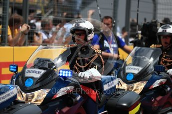 World © Octane Photographic Ltd. Formula 1 – French GP - Paddock. Gendarmerie police. Circuit Paul Ricard, Le Castellet, France. Sunday 24th June 2018.