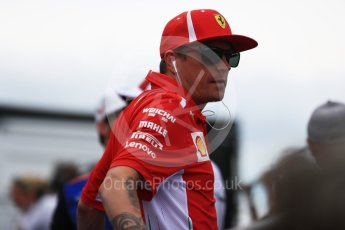 World © Octane Photographic Ltd. Formula 1 – French GP - Drivers Parade. Scuderia Ferrari SF71-H – Kimi Raikkonen. Circuit Paul Ricard, Le Castellet, France. Sunday 24th June 2018.