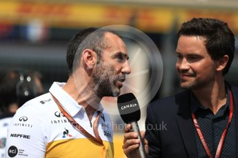 World © Octane Photographic Ltd. Formula 1 - French GP - Grid. Cyril Abiteboul - Managing Director of Renault Sport Racing Formula 1 Team. Circuit Paul Ricard, Le Castellet, France. Sunday 24th June 2018.