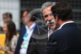 World © Octane Photographic Ltd. Formula 1 - French GP - Grid. Chase Carey - Chief Executive Officer of the Formula One Group. Circuit Paul Ricard, Le Castellet, France. Sunday 24th June 2018.