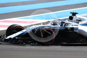 World © Octane Photographic Ltd. Formula 1 – French GP - Practice 1. Williams Martini Racing FW41 – Lance Stroll. Circuit Paul Ricard, Le Castellet, France. Friday 22nd June 2018.