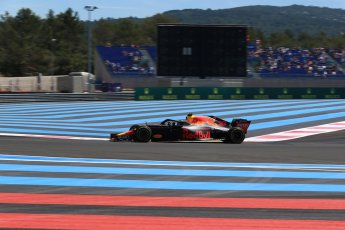 World © Octane Photographic Ltd. Formula 1 – French GP - Practice 1. Aston Martin Red Bull Racing TAG Heuer RB14 – Max Verstappen. Circuit Paul Ricard, Le Castellet, France. Friday 22nd June 2018.