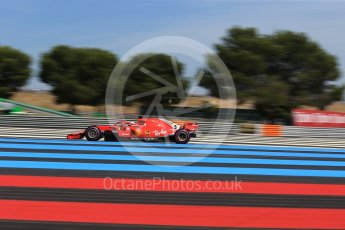 World © Octane Photographic Ltd. Formula 1 – French GP - Practice 2. Scuderia Ferrari SF71-H – Sebastian Vettel. Circuit Paul Ricard, Le Castellet, France. Friday 22nd June 2018.