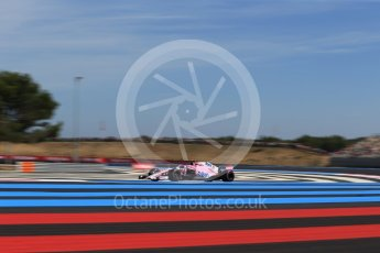 World © Octane Photographic Ltd. Formula 1 – French GP - Practice 2. Sahara Force India VJM11 - Esteban Ocon. Circuit Paul Ricard, Le Castellet, France. Friday 22nd June 2018.